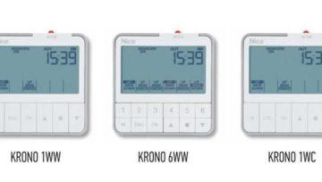 Nowy model pilotów z zegarem - KRONO marki Nice