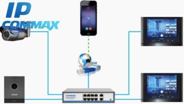 System wideodomofonowy IP COMMAX - nowość!